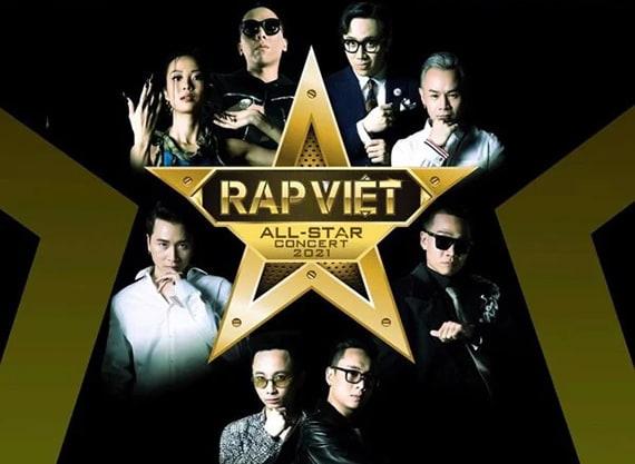 Rap Việt All-Star Chương trình biểu diễn Live sắp được tổ chức
