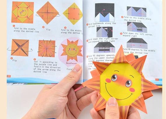 Tất tần tật lợi ích khi cho trẻ học gấp Origami
