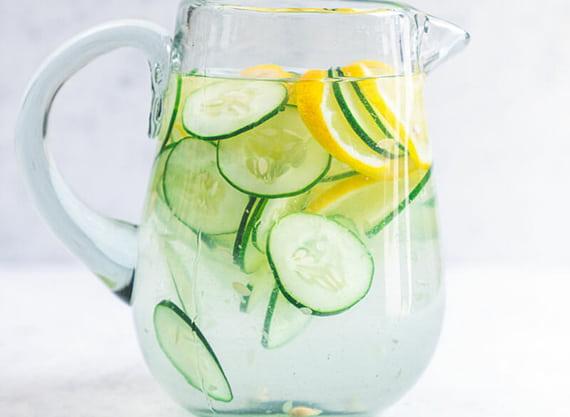 Uống nước Detox dưa leo giúp bạn giảm cân nhanh chóng
